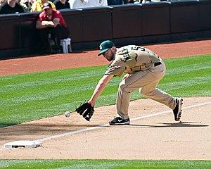 Kevin Kouzmanoff - Kouzmanoff with the San Diego Padres in 2008