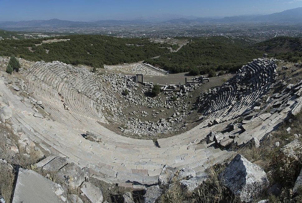Kibyra Theatre 9911 panorama