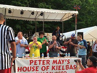Kielbasa - Kielbasa eating contest held in Kansas City