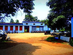 Kilikollur railway station - Kilikollur railway station building