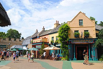 Busch Gardens Williamsburg - 2014 street view of Killarney, Ireland.