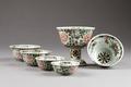Kinesiska porslins skålar gjorda under Kangxi 1662-1722, Qing-dynastin - Hallwylska museet - 95710.tif
