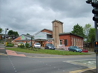 Brandhall - Image: King's Community Church geograph.org.uk 443241