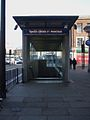King's Cross St Pancras tube stn Euston Road southwest entrance.JPG