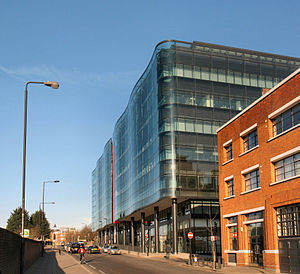 Kings Place - Kings Place from York Way