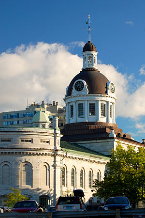 Tholobate - Tholobate atop Kingston City Hall in Canada