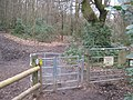 Kissing Gate near Hunters Lodge - geograph.org.uk - 1755894.jpg