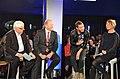 Klaus Kastan, Peter Claussen, Iggy and Christina Wolf, 2013 (2).jpg