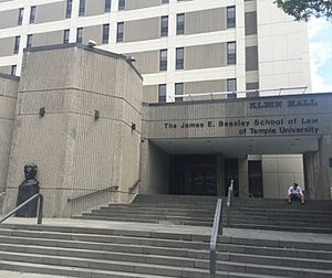 Temple University Beasley School of Law - Klein Hall - The James E. Beasley School of Law