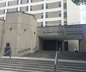 Temple University Beasley School of Law - Klein Hall - The James E. Beasley School of Law