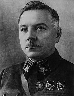 Kliment Voroshilov Soviet military commander