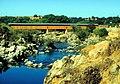 Knights Ferry covered bridge Stanislaus River.jpg