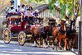 Knott's Berry Farm Wells Fargo Lines Stagecoach (24464921604).jpg