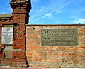 Kołobrzeg, tablice poświęcone żołnierzom I Armii Wojska Polskiego przy ul. Koszalińskiej DSC08972.JPG