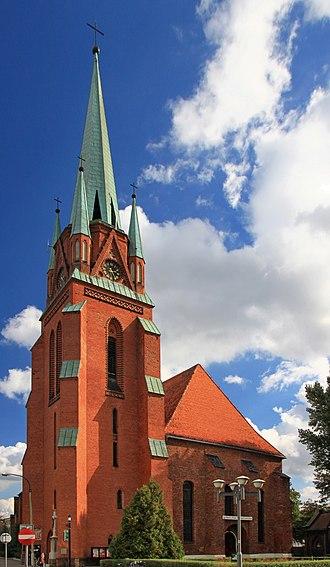 Racibórz - Image: Kościół Wniebowzięcia NMP w Raciborzu 12