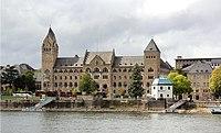 Koblenz, ehem. Preuß. Regierungsgeb., Pegelhaus (2015-09-15).JPG