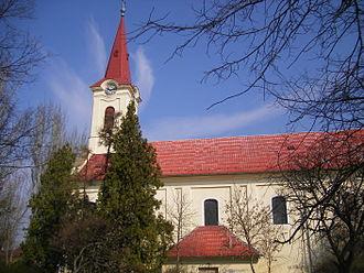 Kolárovo - A church in Kolárovo
