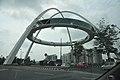 Kolkata Gate Under Construction - Rabindra Tirtha Crossing - Rajarhat - Kolkata 2017-06-21 2623.JPG