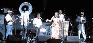 Konono Nº1 - Konono Nº1 performing in May 2007