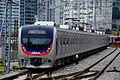 Korail Line 1 train leaving Yongsan.JPG