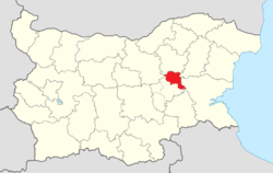 Kotel Municipality Within Bulgaria.png