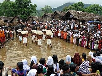 Kottiyoor - Image: Kottiyoor temple festival IMG 0030