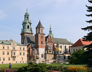 Burial sites of European monarchs and consorts - Image: Krakow Wawel Cathedral A15