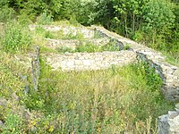 Kraku Lu Jordan archaeological site view of the foundry, Kučevo, Serbia.jpg