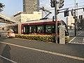 Kumamoto City Tram near Kumamoto-Ekimae Station.jpg