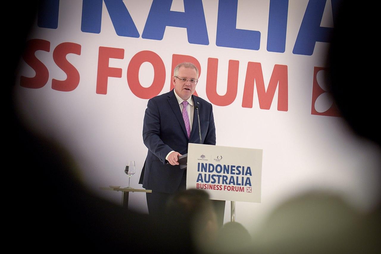 Kunjungan Perdana Menteri Australia Scott Morrison ke Indonesia (29462297927).jpg