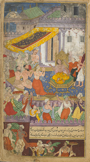 Kusha (Ramayana) - Lava and Kusha chanted the Ramayana before Rama.