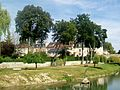 L'Isle-Adam (95), rue de Conti (façades arrière) et sirène Evila.jpg