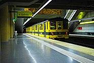 Línea H, Andén en la estación Venezuela 02 (Buenos Aires, noviembre 2008)