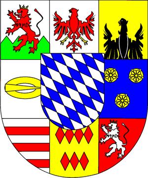 Prince Rupert Loewenstein - Arms of Löwenstein-Wertheim-Freudenberg