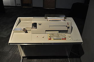 Teletype Model 33 - A Model 35 ASR, at the Living Computer Museum in Seattle