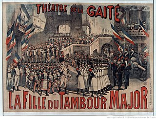 <i>La fille du tambour-major</i> opera written by Jacques Offenbach
