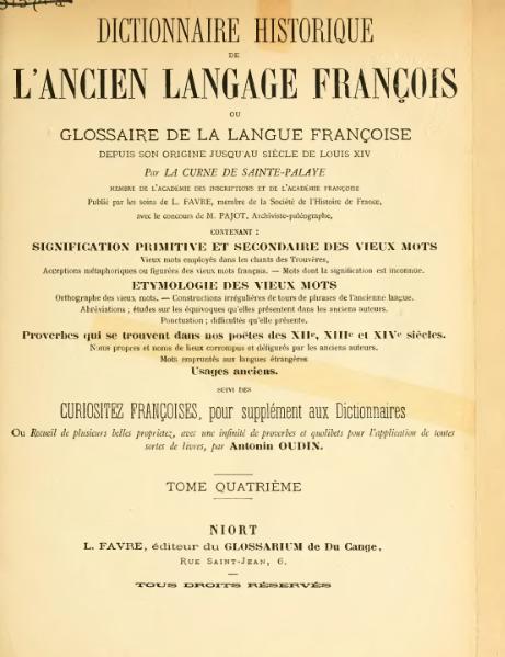 File:La Curne - Dictionnaire historique, 1875, Tome 04.djvu