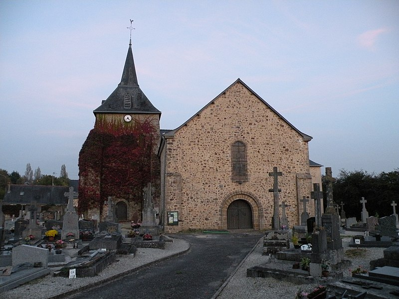 Church of La Gravelle.