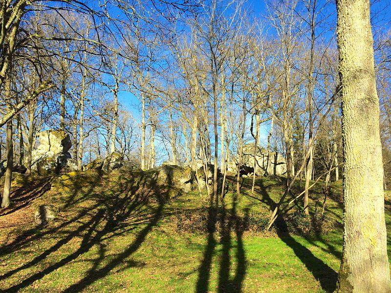 Le cromlech de la Roche au Diable, Les Bordes, Yonne.