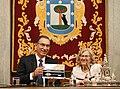 La alcaldesa entrega la Llave de Oro de Madrid al presidente de Perú 11.jpg