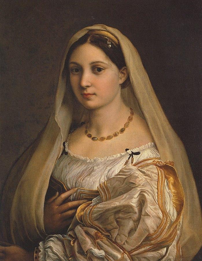 «Дама с покрывалом» (около 1514—1515)