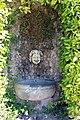 La petraia, fontana con mascherone sotto scalinata del giardino 01.JPG
