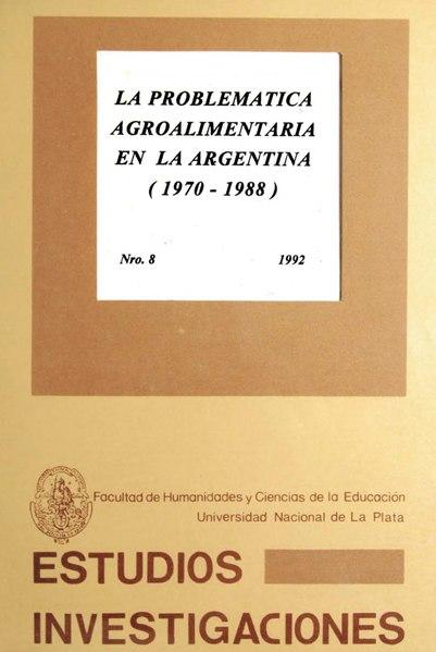 File:La problemática agroalimentaria en la Argentina 1970-1988.djvu