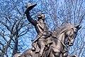 Lafayette statue in Lafayette Park, Fall River, Massachusetts close view.jpg