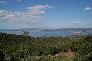Laguna di Orbetello di Ponente, la fotografía n.º 168.209