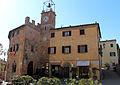 Lajatico, castello e torre dell'orologio 01.JPG