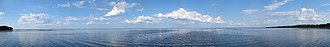 Lake George (Florida) - Image: Lake George, Florida Panoramic