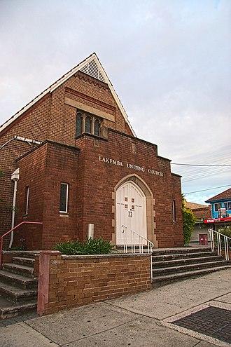 Lakemba, New South Wales - Lakemba Uniting Church, formerly Lakemba Methodist Church