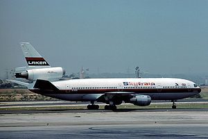 Laker Airways Douglas DC-10-10 G-AZZC at Palma...
