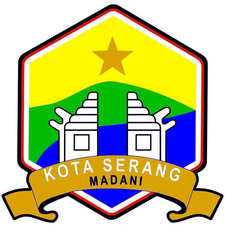 File Lambang Kota Serang Jpg Wikimedia Commons
